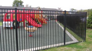 commercial ornamental fence indiana