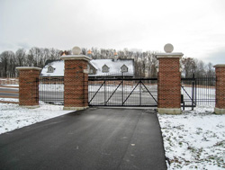commercial fence gate columbus indiana