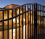residential ornamental fence